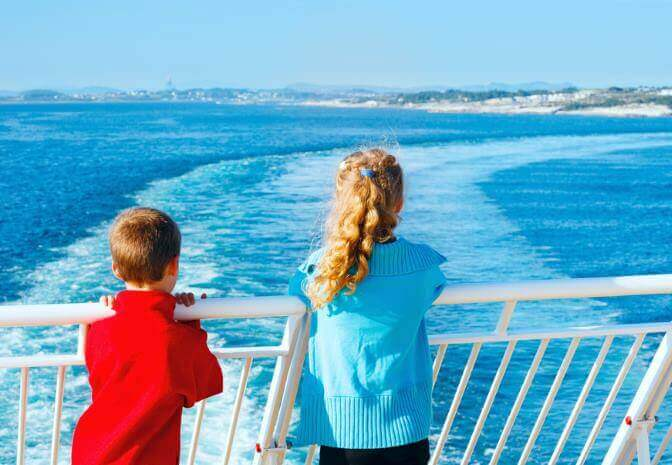 Travelling with Kids on a P&O Ferry