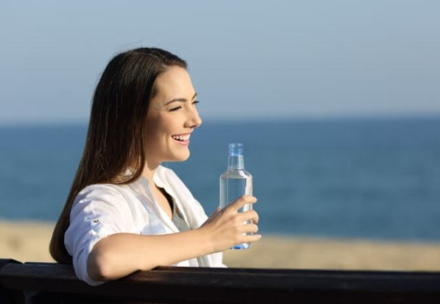 Five Health Benefits of Ferry Travel: Stay hydrated on a P&O Ferry