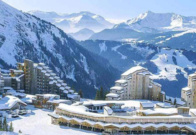 Best skiing in Europe for families – Avoriaz, France