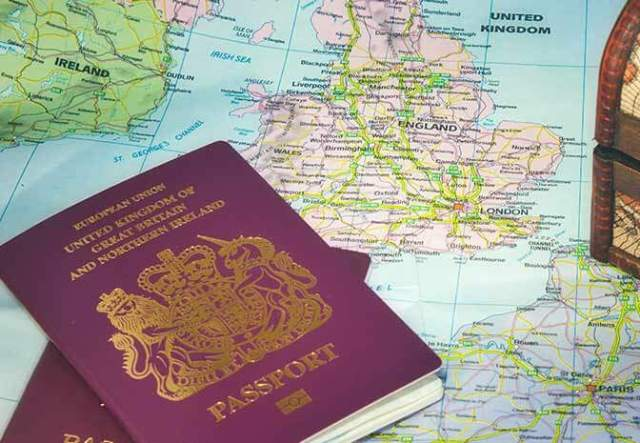 Check-In at Dover - Passport Control