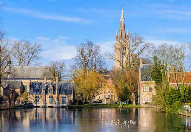 Second visit to Bruges - Minnewater Park