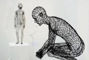 Moto Waganari, 3D printed sculpture. Image from Visual News.