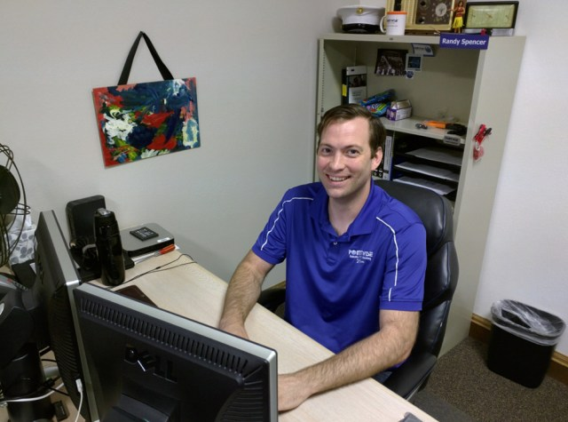 Randy Spencer, our System Administrator.