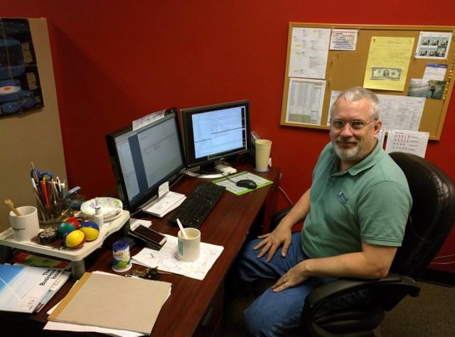 David Garlisch, Senior Engineer on the Product Development Team.