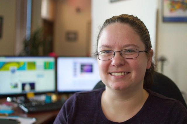 Brenna Jobe, Receptionist at Pointwise.