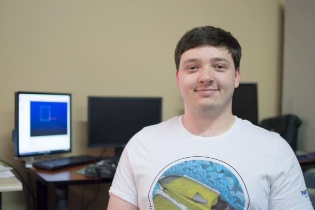 Brian Mack, Intern on the Product Development Team.