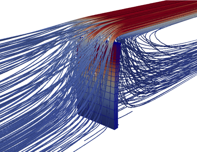 Fluid-structure interaction in SU2 v4.2. See link above.