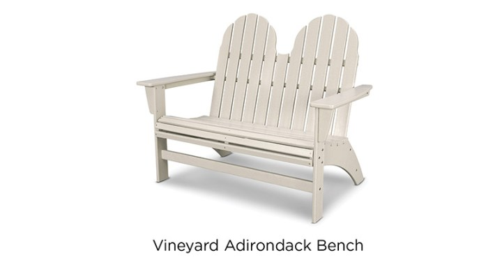 POLYWOOD-Vineyard-Adirondack-Bench