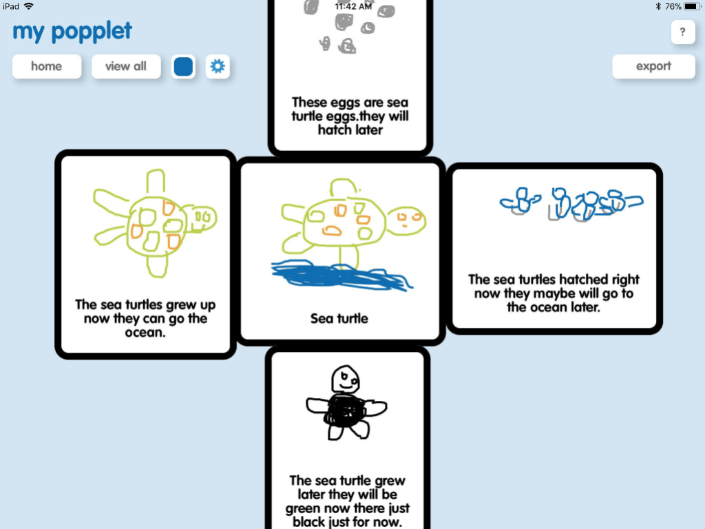 12 Popplet Activities For Kindergarten And First Grade