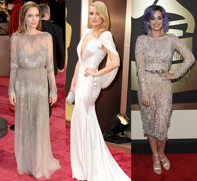 021915_red carpet style_shiny silky dresses