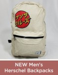 New Mens Herschel Backpacks