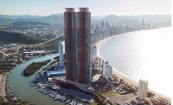 yachthouse prédio mais alto do mundo