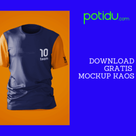 download gratis mockup kaos