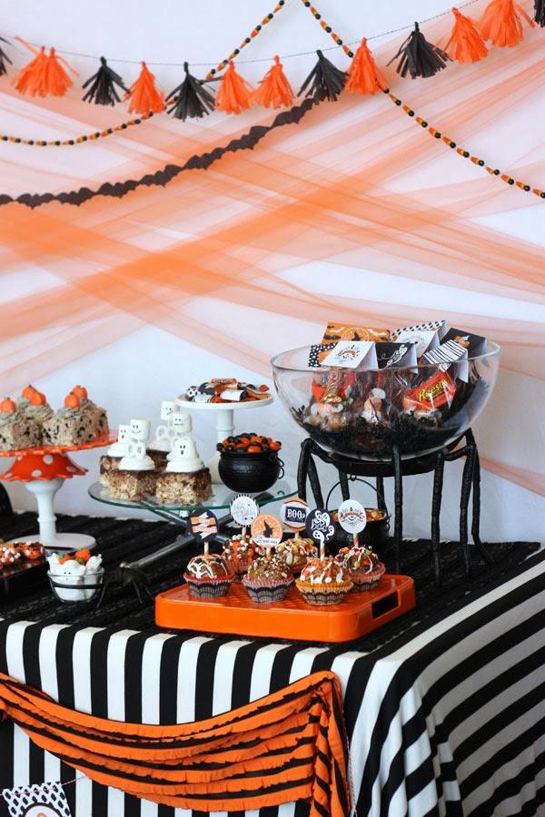 image 44 Vintage Halloween party printables + potterybarn