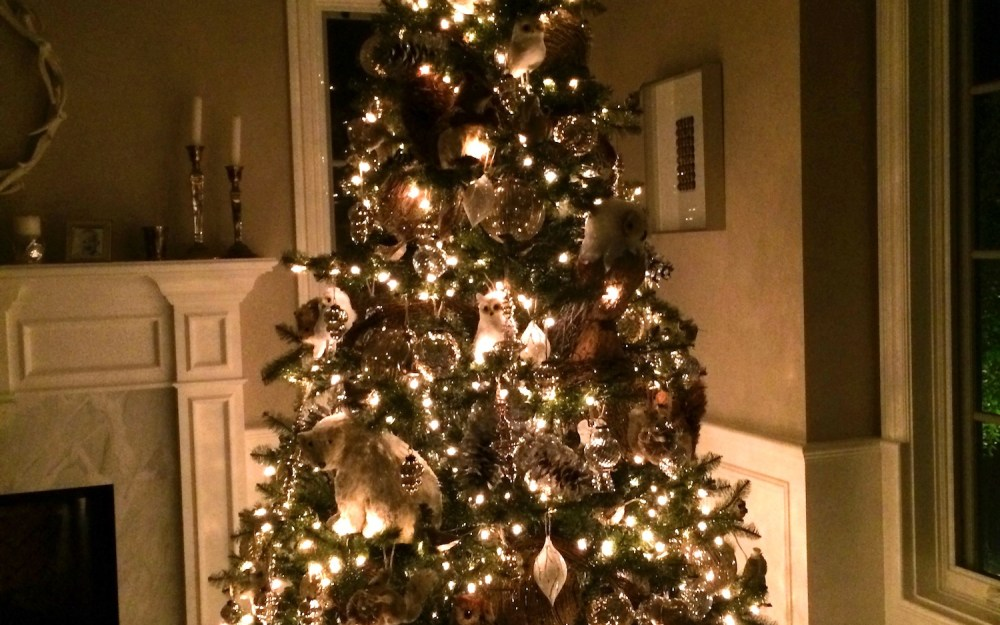 Entertaining · a pottery barn christmas tree