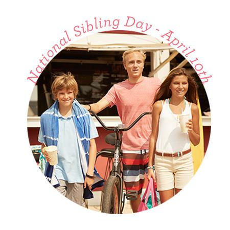 sibling day april