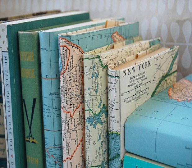 GlobeDecor-MapBooks