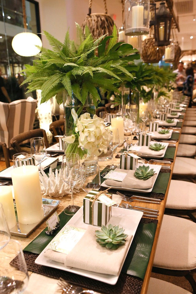South Coast Plaza Spring Garden Show Luncheon at Pottery Barn