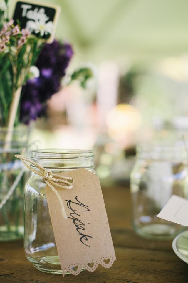 3 Chic Wedding Drink Tag Ideas