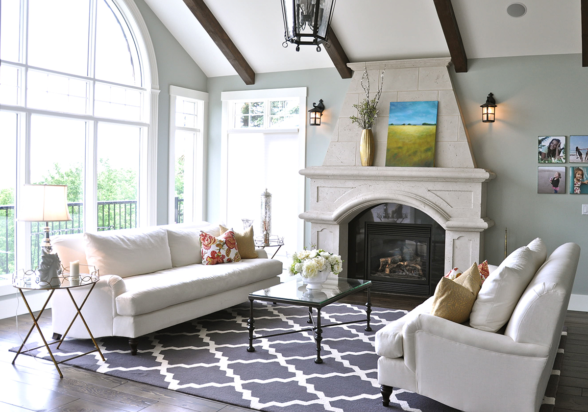 Living Room Design: A Refresh In Alberta With Pottery Barn