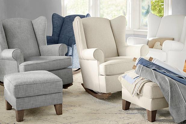 NurseryChairLead & Tips for Choosing the Perfect Nursery Chair - Pottery Barn