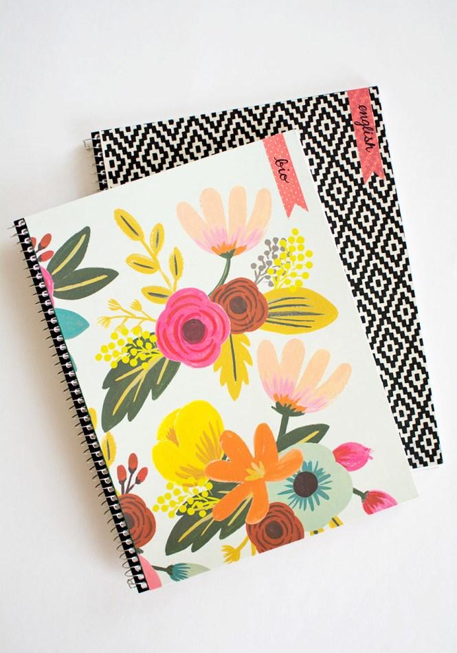 Washi Tape Decorating Notebook Emelineseet Pinkpaislee Ppcedarlane Memorykeeping