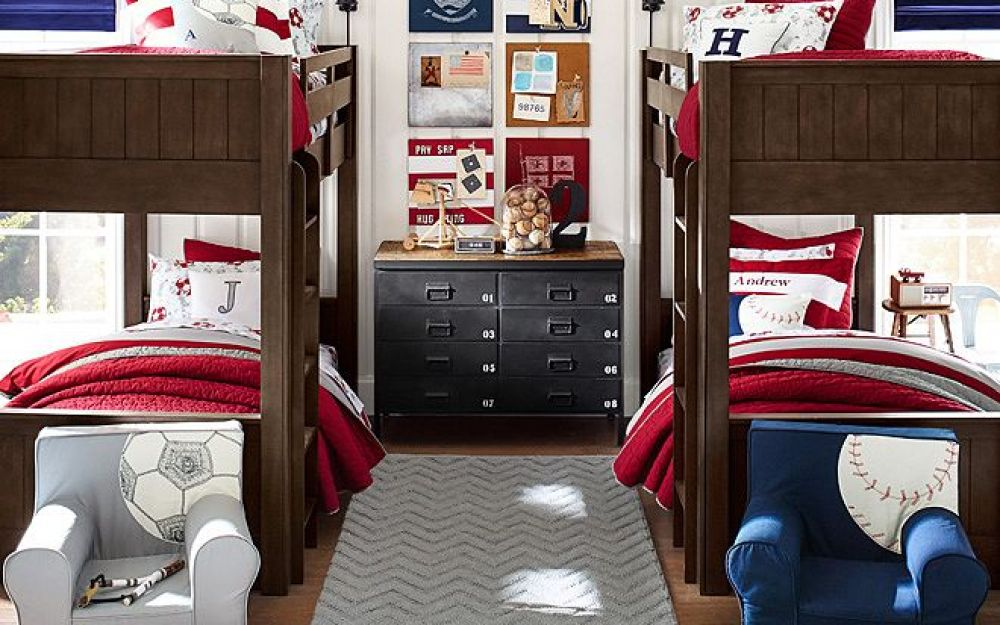 Athlete Style Room Ideas