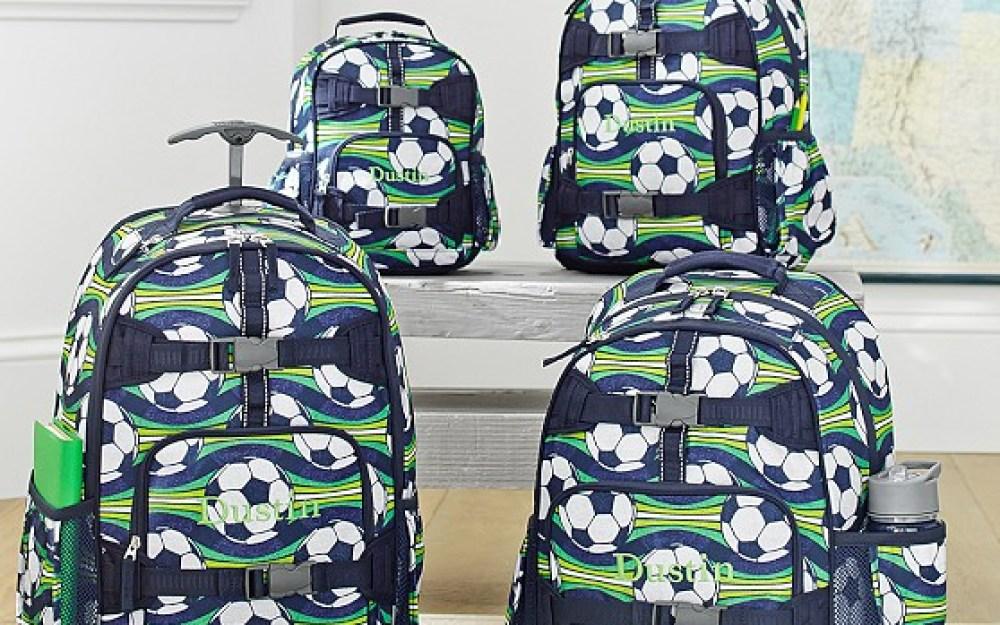 Mackenzie Soccer Backpacks