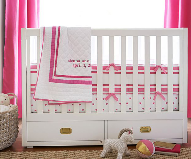 Bright Pink Nursery | 8 Nursery Trends for the New Year
