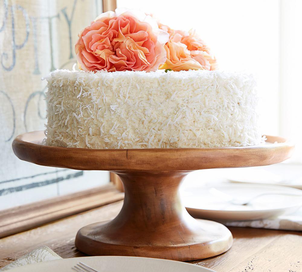 A Coconut Cake Recipe From The Latest Pottery Barn Catalog