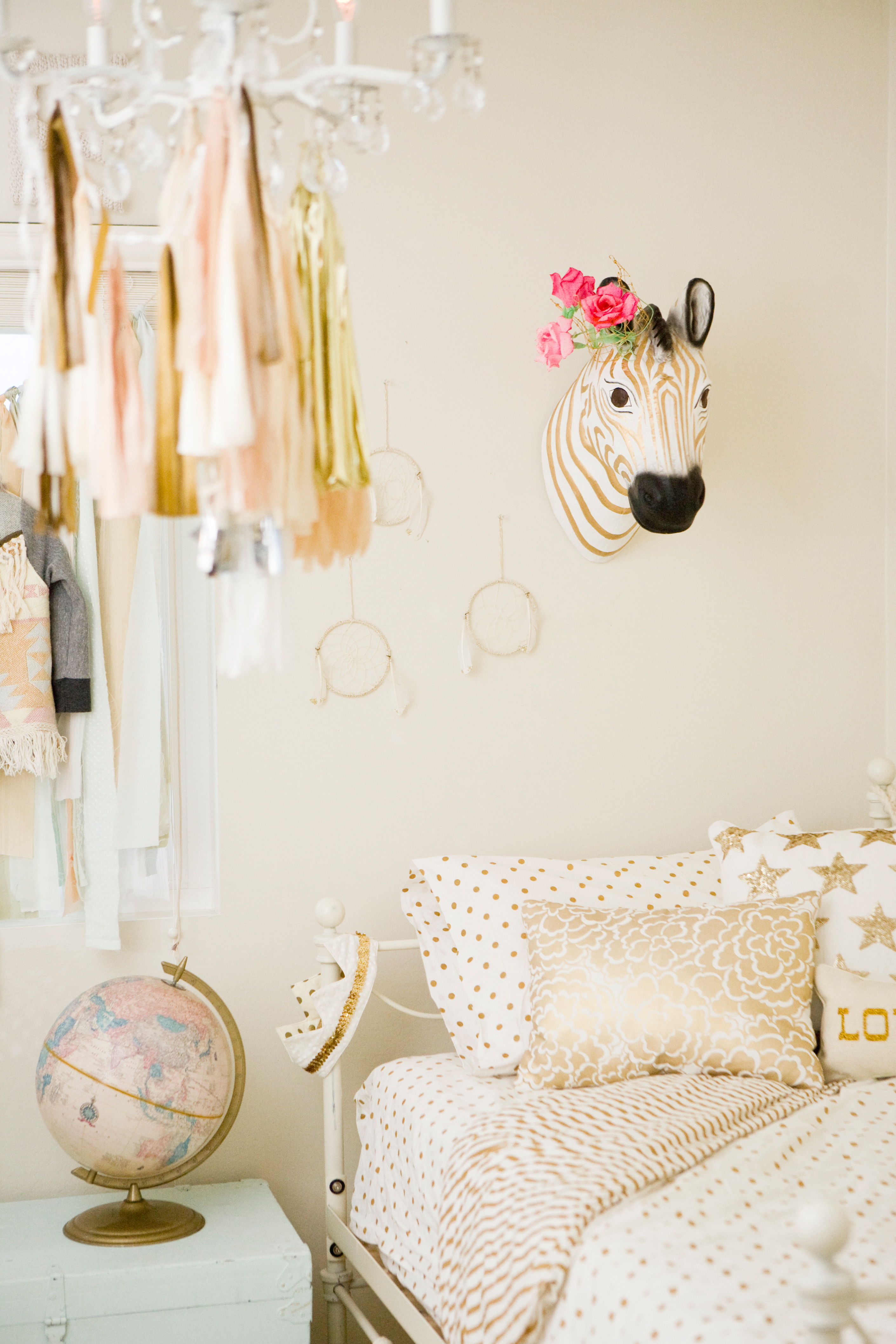 A Whimsical Girls Room Makeover With O My Darlings Blog Pottery Barn