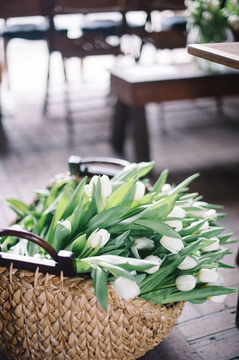 Pottery Barn Tulips