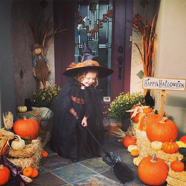 """Sabrina the Preschool Witch!"" — Instagram user @drmaclean"
