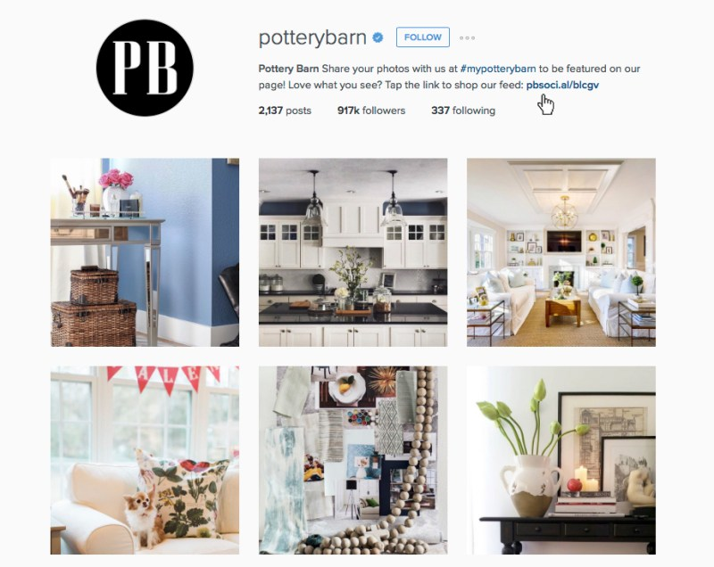 PB Shoppable Instagram