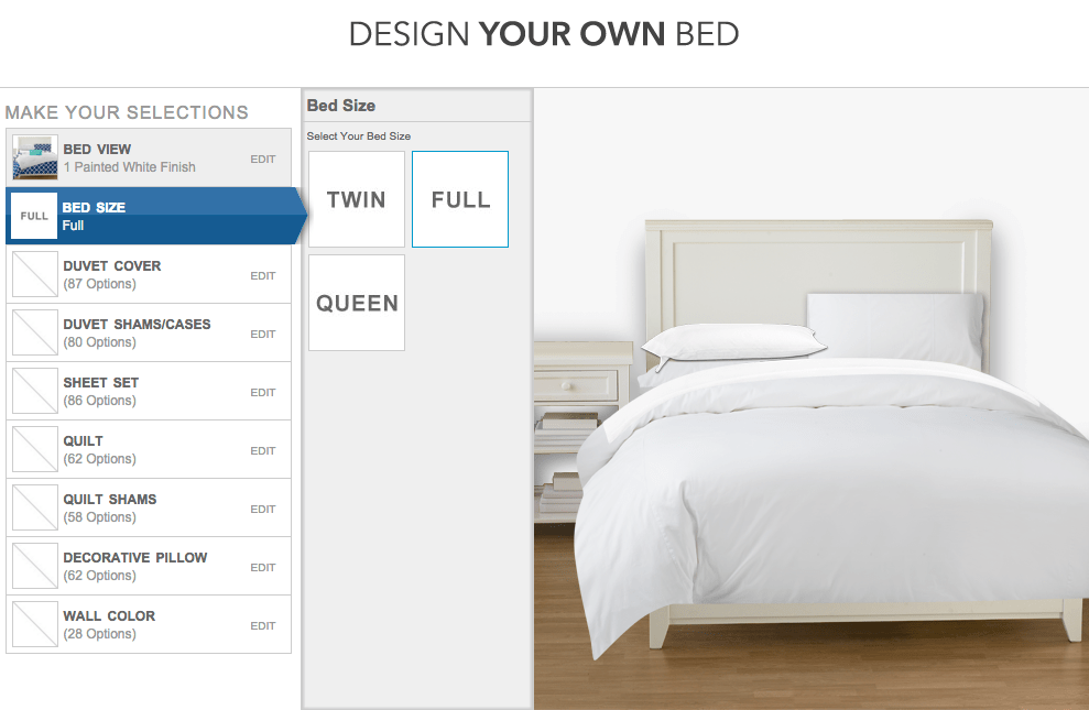 Pbteen Design Your Own Bed.Design Your Own Bed With Pbteen
