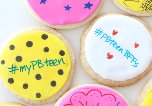 Sleepover Recipe Hashtag Cookies From Pankobunny