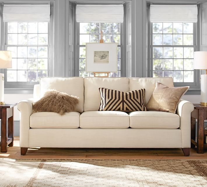 Cameron Roll Arm Upholstered Sofa O