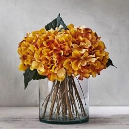 Amber Hydrangea Arrangement