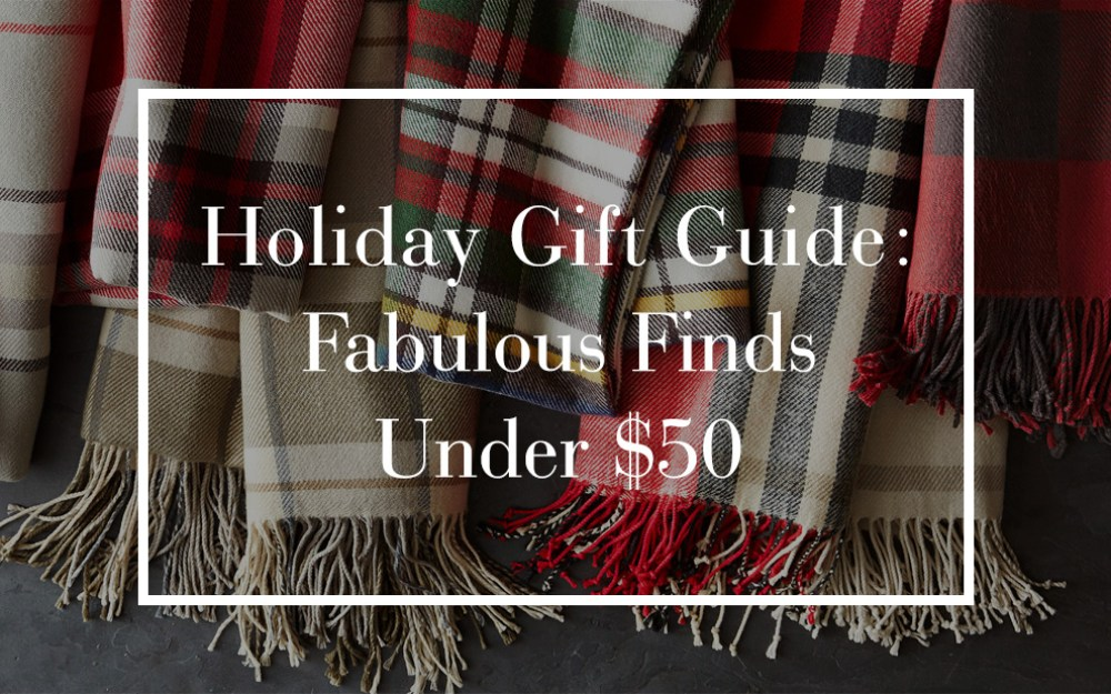 Holiday Gift Guide Fab Finds Under 50 Pottery Barn