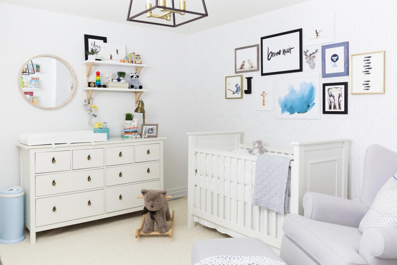 Decorate · Animal Themed Nursery