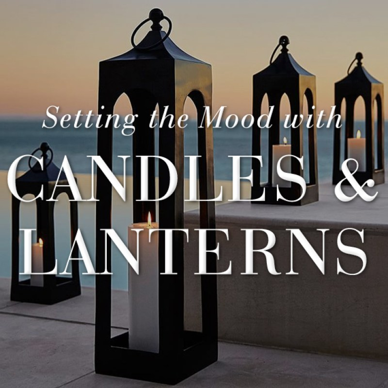 Setting the Mood with Candles & Lanterns