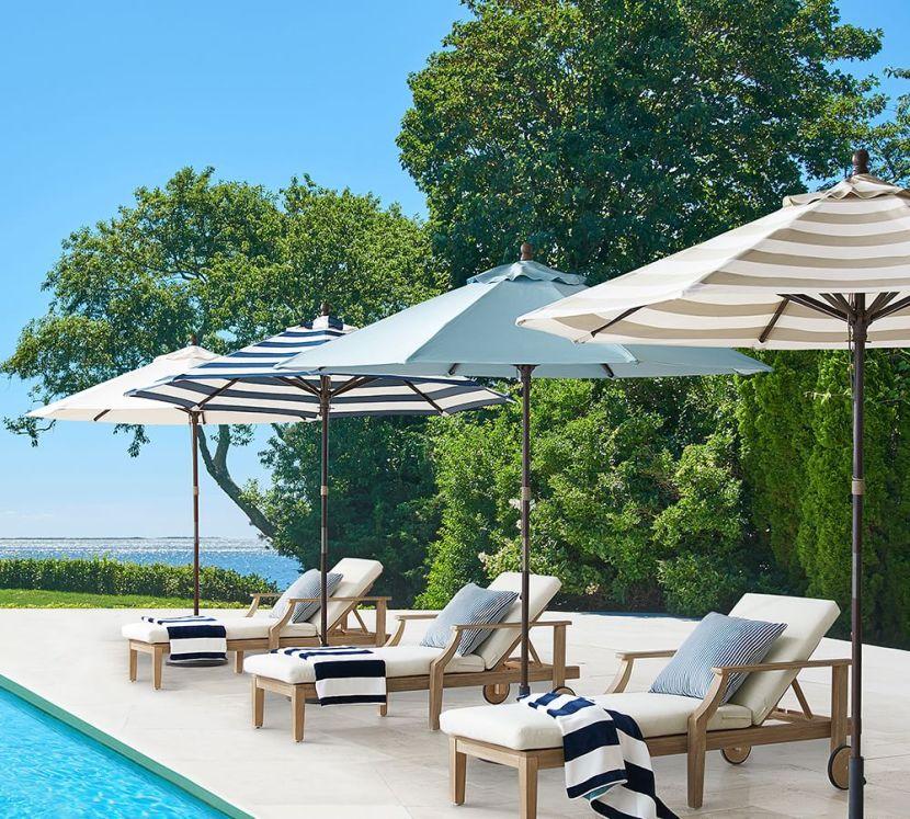 Premium Sunbrella® Round Umbrella