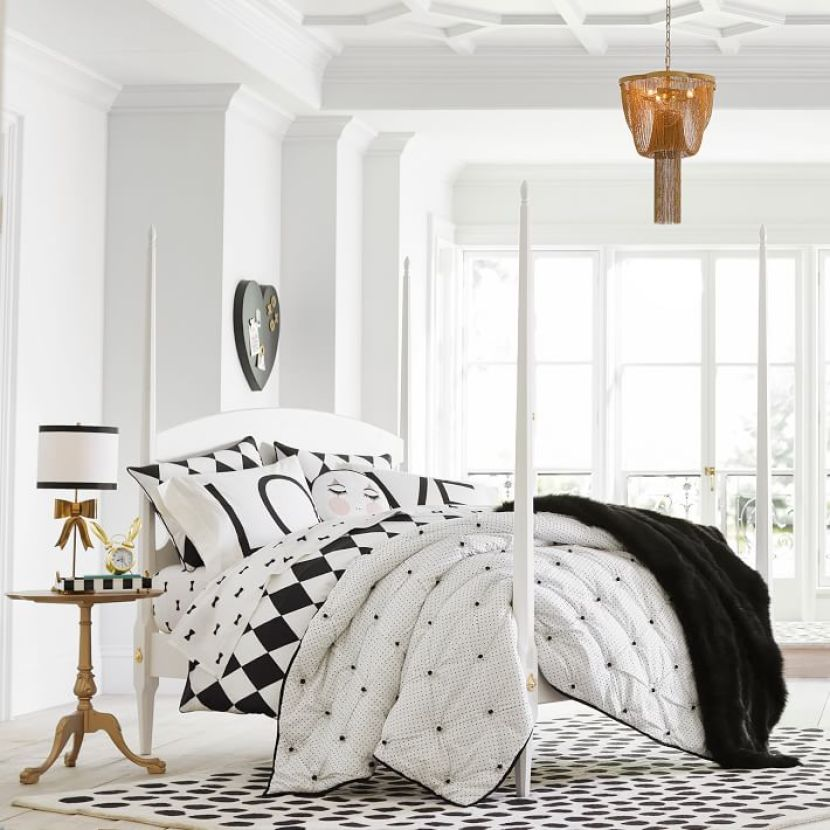 Tips For Decorating With Black White Featuring Our New Emily Meritt Designs Pottery Barn