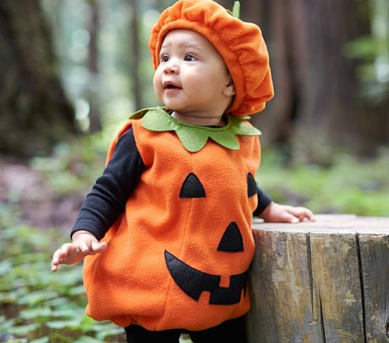 you can also keep it classic on their first halloween in our baby pumpkin costume they will look cute enough to eat we love seeing photos of your little