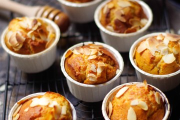 Muffins miel et amandes