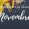 produits de saison novembre