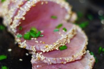 Tataki de thon au sésame