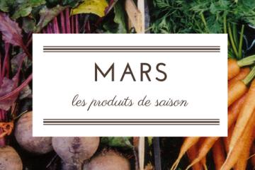 produits de saison - mars