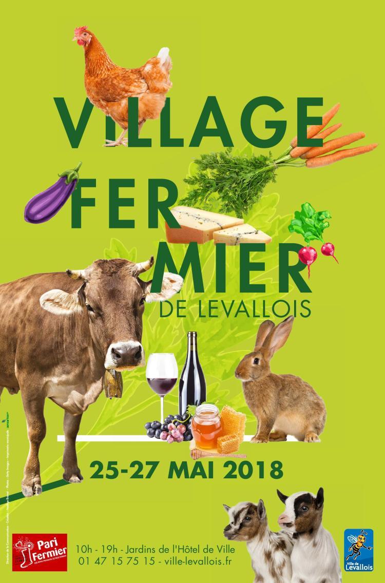 Village Fermier de Levallois avec Pari Fermier du 25 au 27 mai 2018