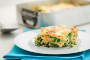 recette lasagne saumon épinards